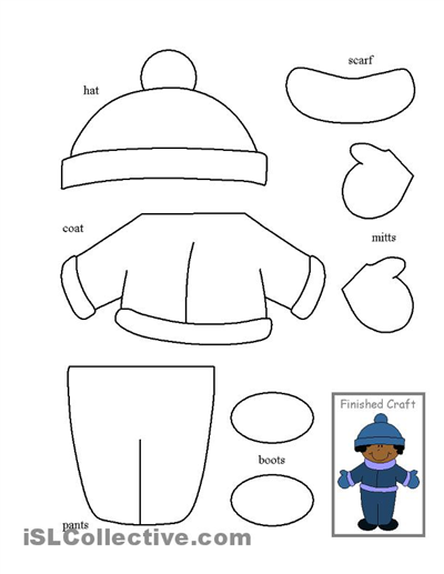 Color Cut And Paste Worksheets