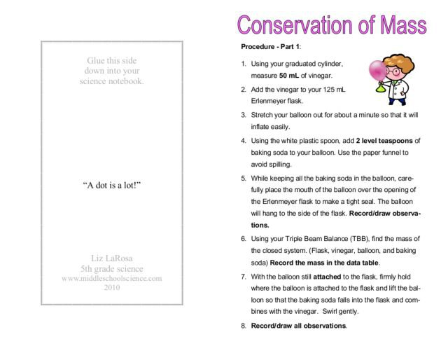 Conservation Of Mass Worksheet Answers 23 Law Of Conservation Of