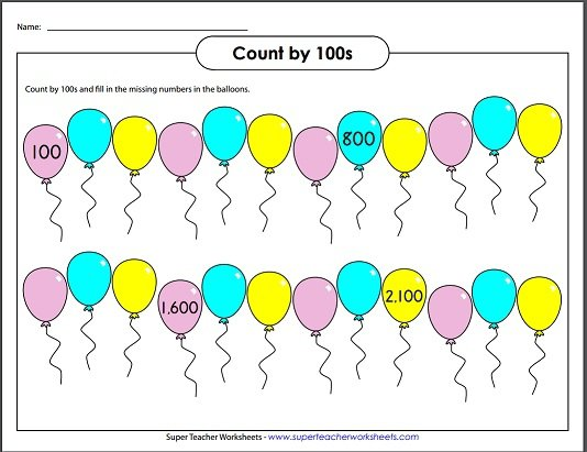 Counting By 100