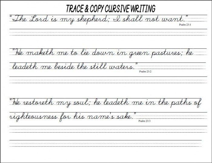 Cursive Worksheets Pdf Worksheets For All
