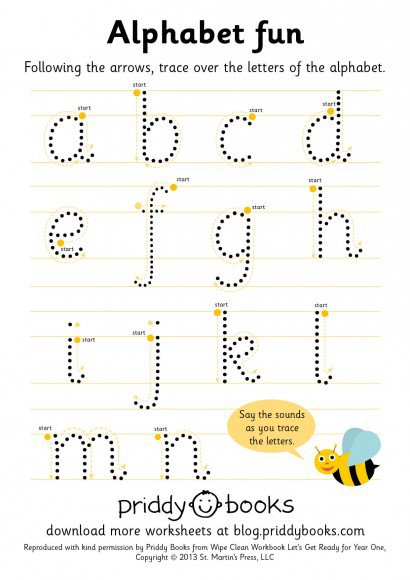 Download And Print  Worksheets   Priddy Books