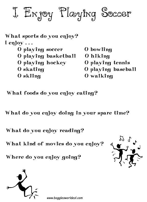Esl Worksheet For Kids Worksheets For All
