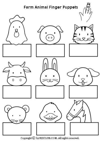 Farm Animals Clipart Art And Craft