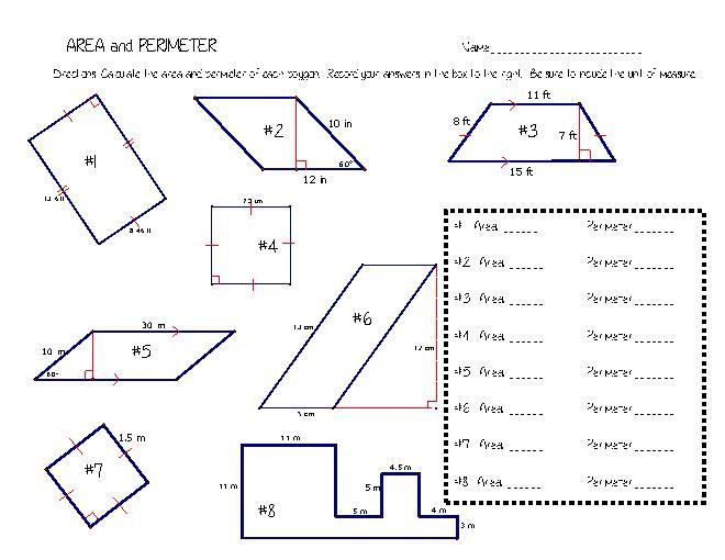 Finding Area Of Irregular Shapes Worksheet Worksheets For School