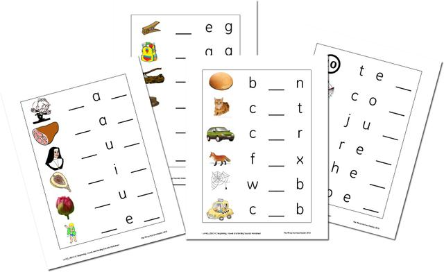 Free Ending Sounds Worksheets Worksheets For All