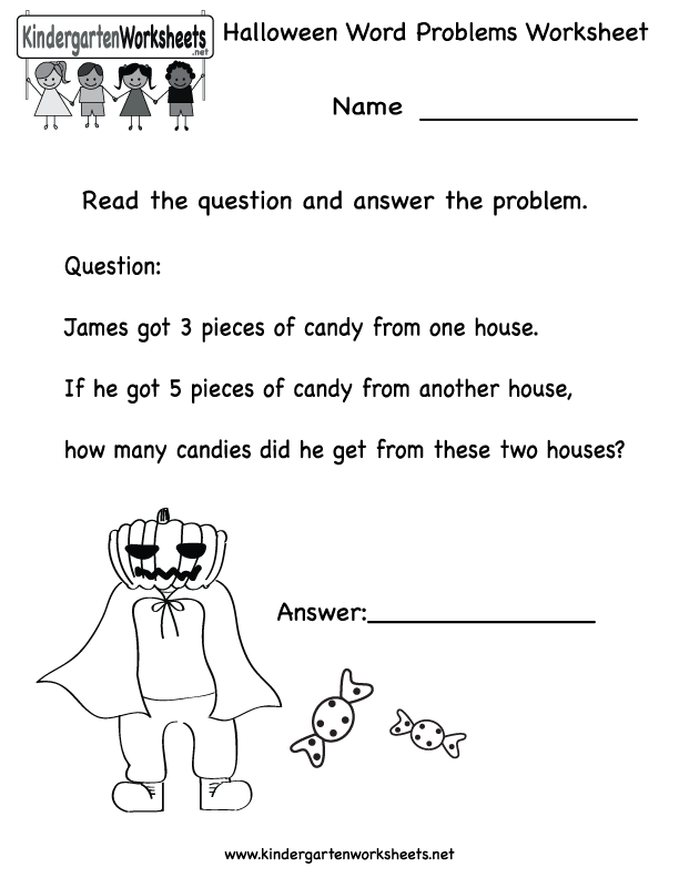 Free Halloween Worksheets Worksheets For School