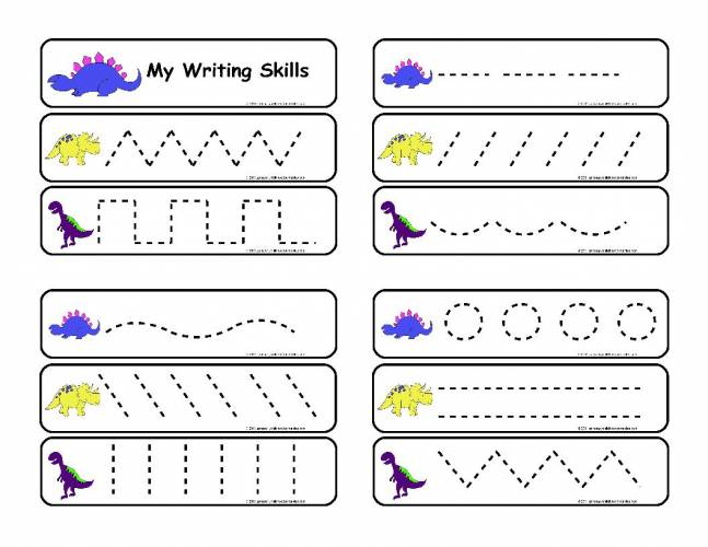 Free Writing Worksheets For Kindergarten