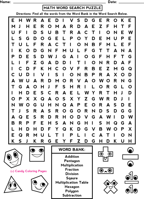 Fun Math Worksheets 2nd Grade Worksheets For All