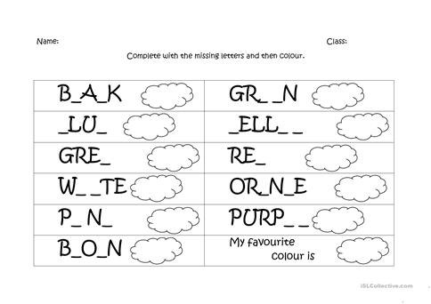 Fun Spelling Worksheets