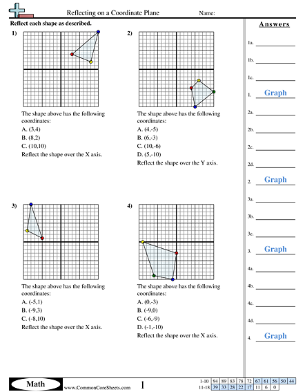 Grid Worksheets