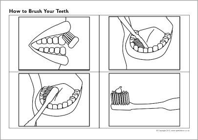 How To Brush Your Teeth Sequencing Sheets (sb7313)