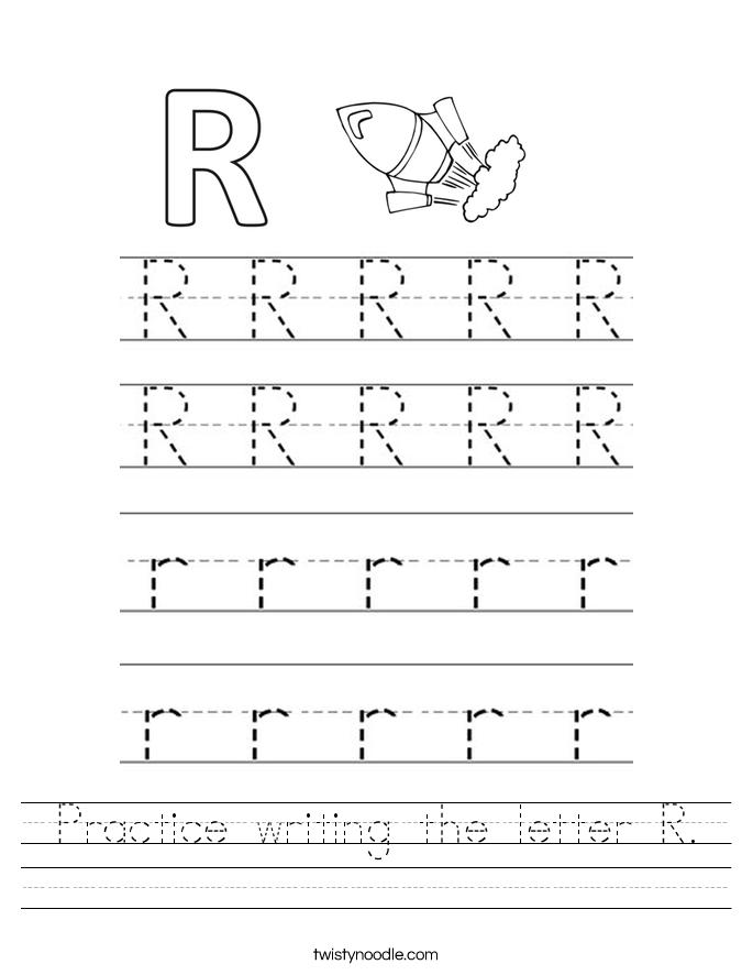 Ideas Collection Letter R Worksheets About Description