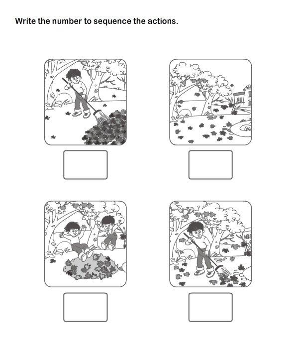 Kindergarten Sequencing