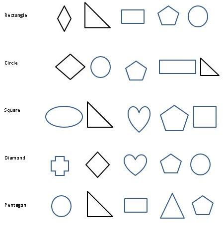 Kindergarten Shapes Worksheets, Free Printables Pdf  Circles