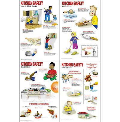 Kitchen Safety Worksheets