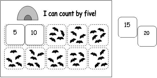 Math Ideas For Bat Theme