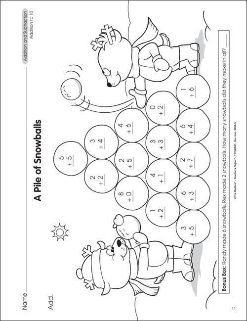 Math Printable Worksheets 1st Grade Worksheets For All