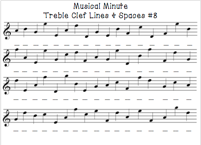 Musical Minute