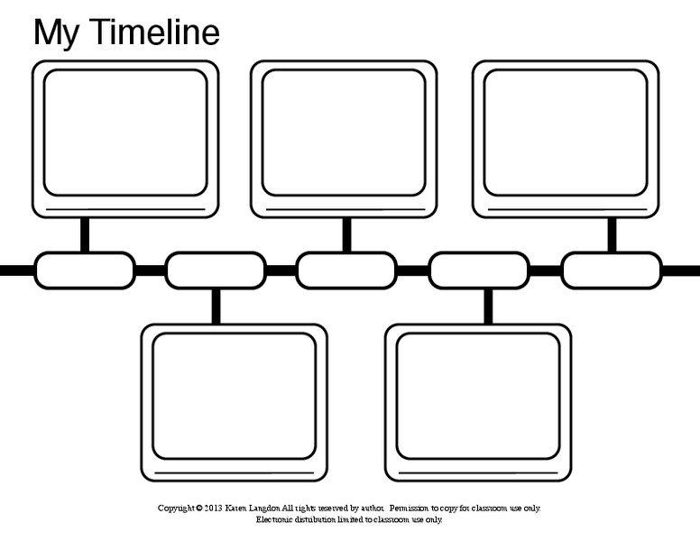 My Timeline Worksheet