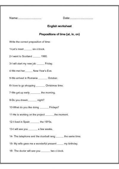 Of Time Worksheet Worksheets For School