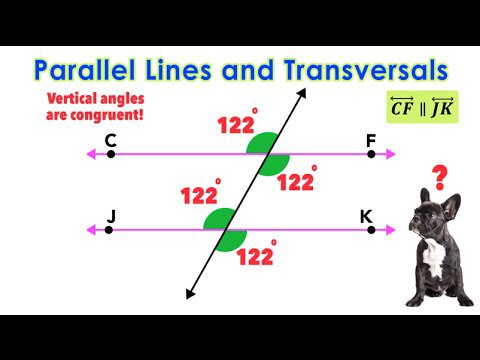 ☆ Parallel Lines Cut By Transversals
