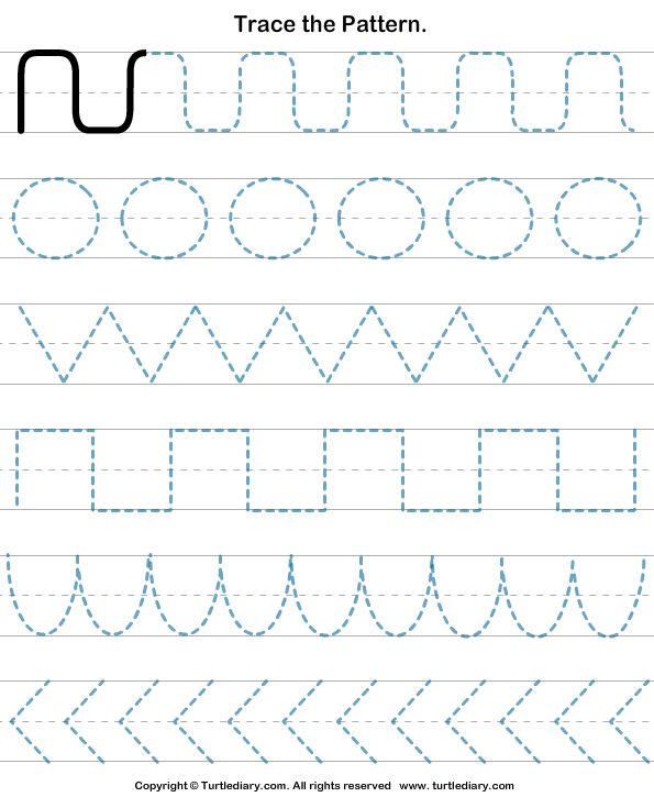 Pre K Handwriting Worksheets With Lines