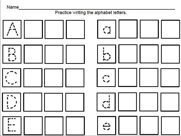Pre K Worksheets To Print Worksheets For All