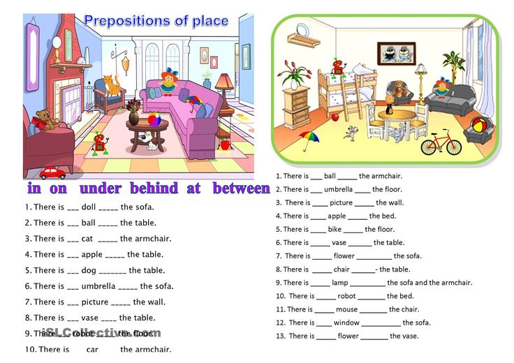 Prepositions Of Time Activities
