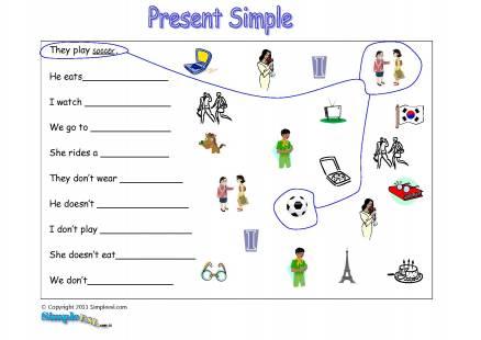 Present Simple Tense Worksheet Pdf