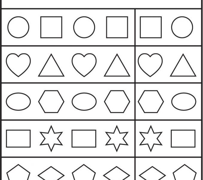 Printable Free Preschool Worksheets To Print 33 With Additional
