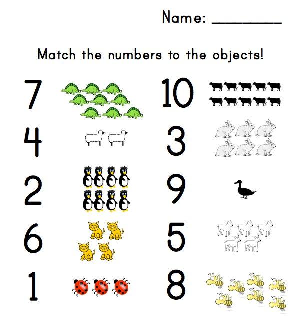 Printables  Preschool Matching Worksheets  Agariohi Worksheets