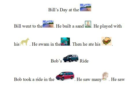 Rebus Stories For Kids  3