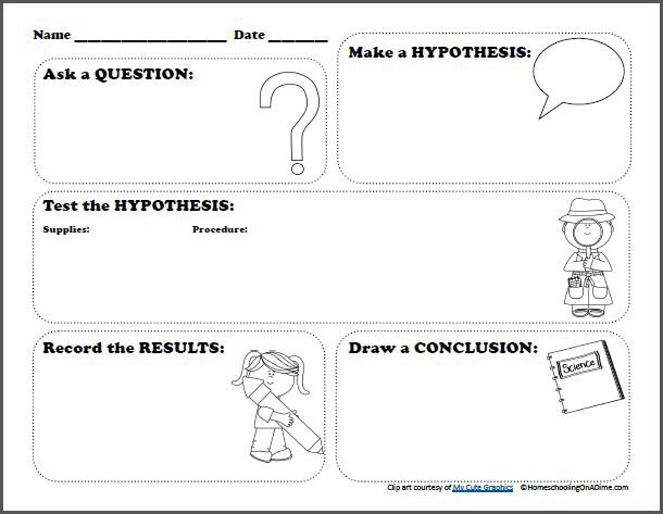 Science Experiments Worksheets Worksheets For All