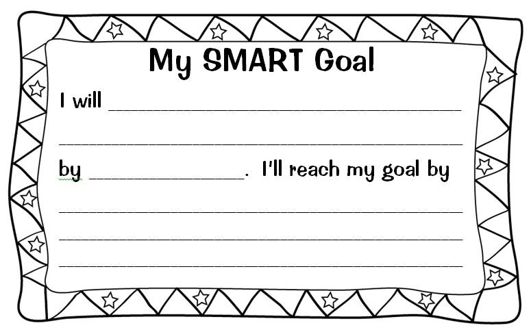 Setting (almost) Smart Goals With My Students