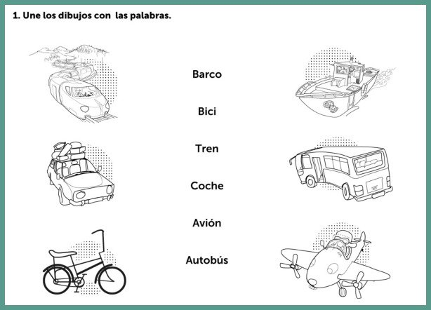 Spanish Worksheets For Interactive Learning