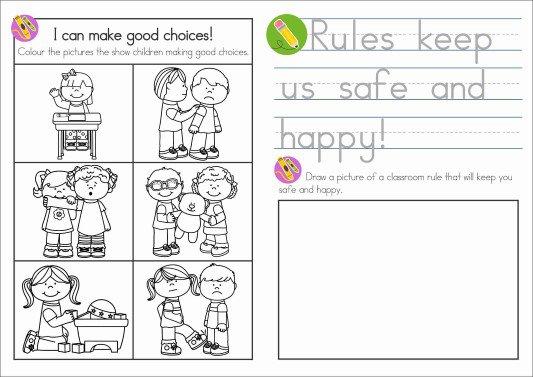 Sunday School Rules