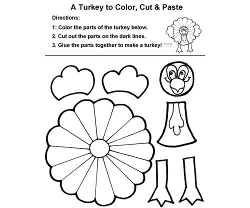 Thanksgiving Coloring Pages Cut And Paste Coloring Pages Of Food