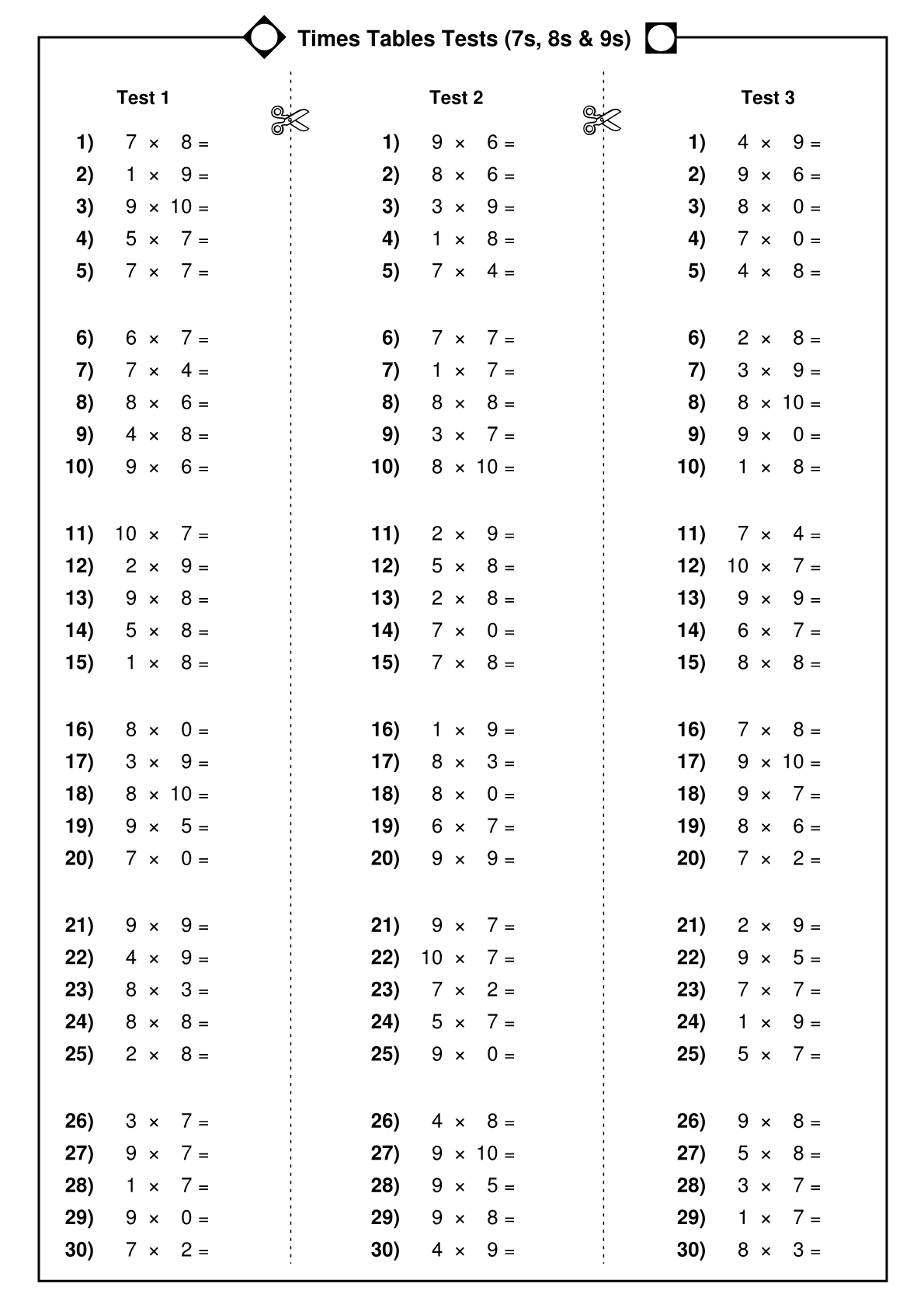 The 25 Best 2 Times Table Worksheet Ideas On Free Worksheets Samples 12 Division