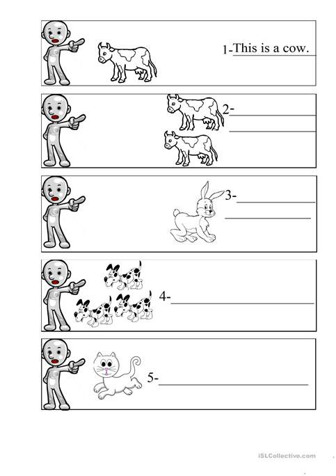 This That These Those Worksheet