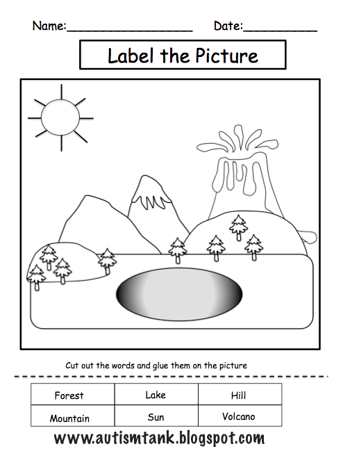 Types Of Landforms Worksheet Worksheets For All