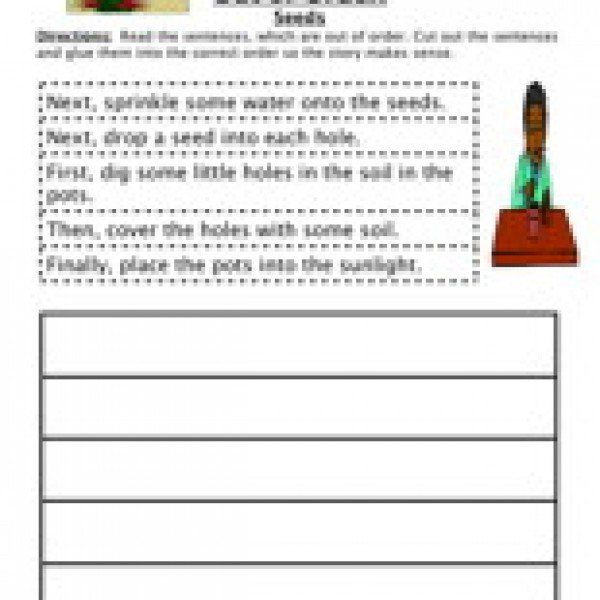 Free Sequencing Worksheets For 4th Grade