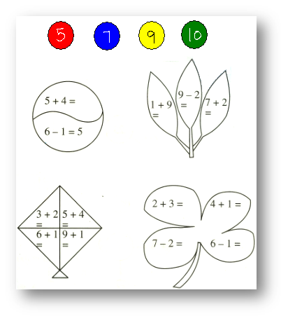 Worksheet On Add And Subtract 1