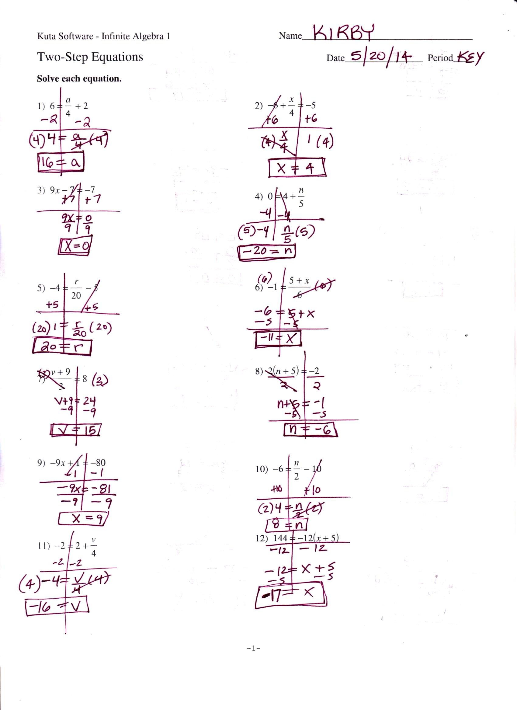 20 Awesome Algebra 2 Worksheets With Answer Key Photograph