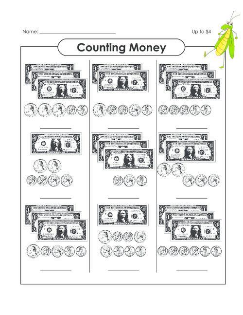 27 Best Money Counting Images On Free Worksheets Samples