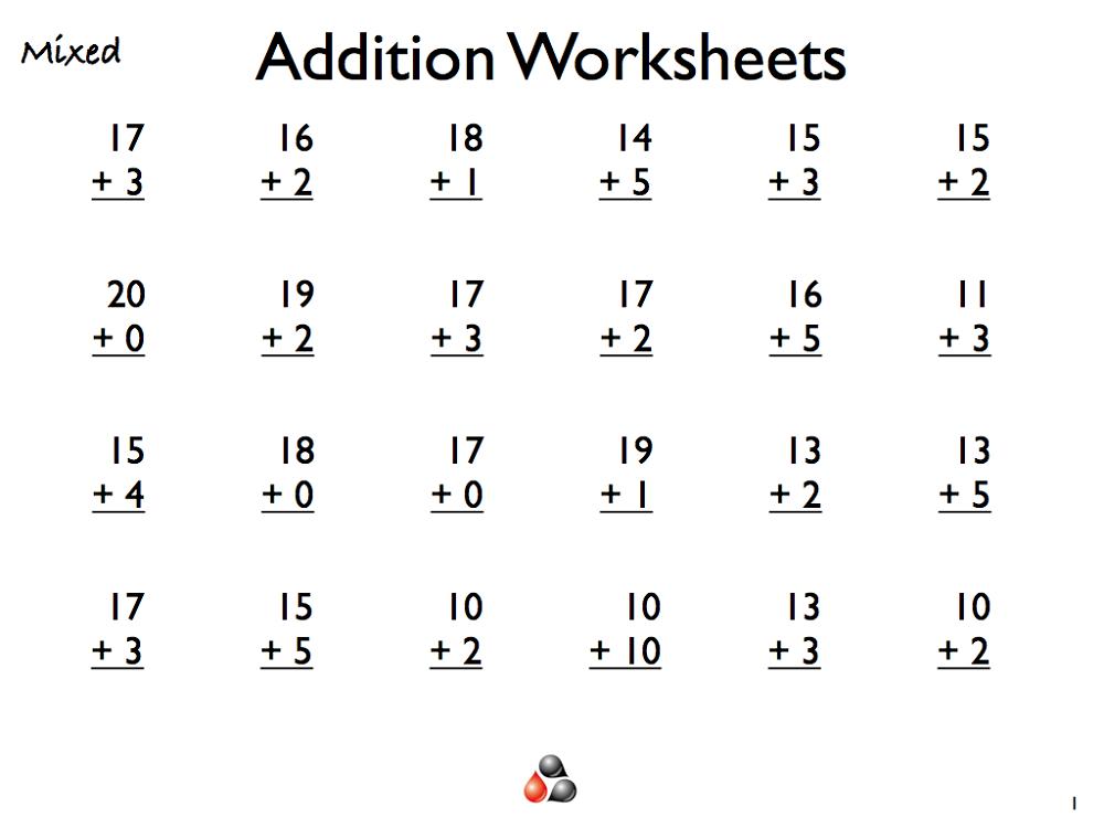 2 Grade Worksheets Adding By 1 The Best Worksheets Image