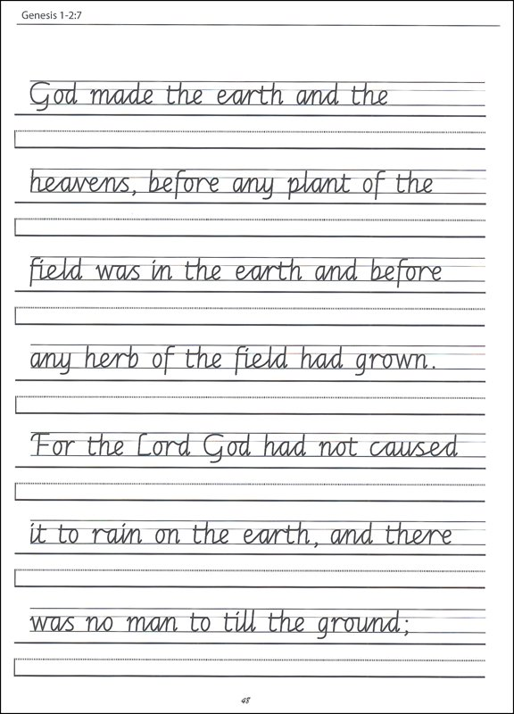 4th Grade Handwriting Worksheets  Writing  Stevessundrybooksmags