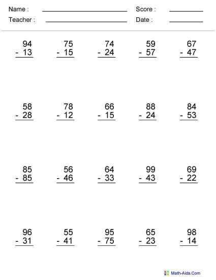 6th Grade Math Ws Worksheets For All