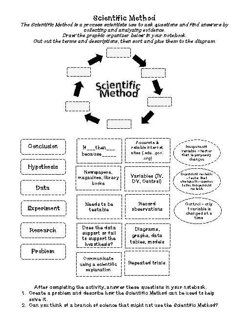 6th Grade Scientific Method Worksheet Worksheets For All