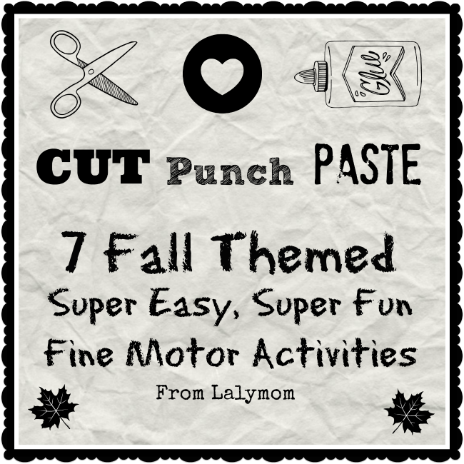 7 Fall Themed Fine Motor Activities For Preschoolers