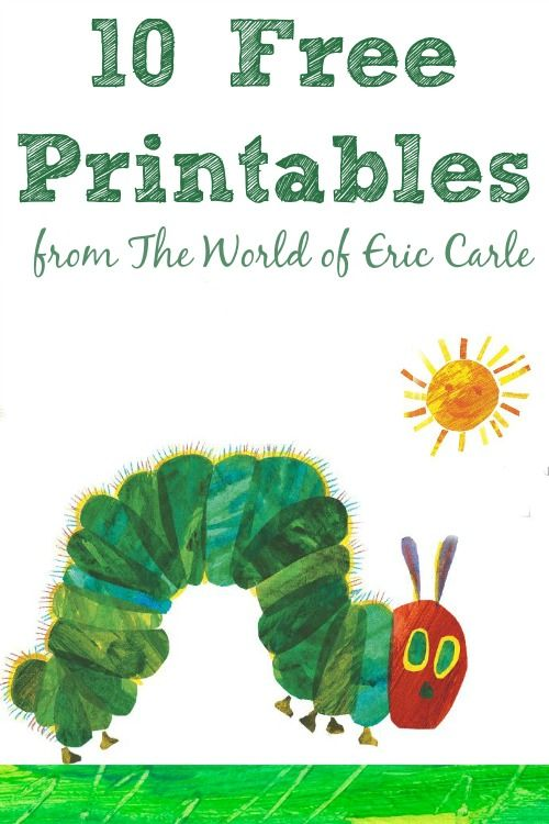 A Ton Of Stuff From The World Of Eric Carle Including Free